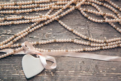 Porcelain heart Royalty Free Stock Images