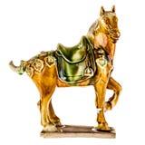 Porcelain horse Stock Image
