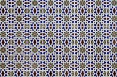Porcelain Islamic patterns. Porcelain tiles of an Islamic pattern Stock Photo