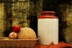 Porcelain Jar Arrangement. Royalty Free Stock Photography