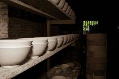 Porcelain kiln workshop Royalty Free Stock Image