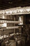Porcelain kiln workshop Royalty Free Stock Photo