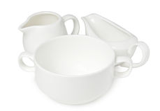Porcelain kitchenware Royalty Free Stock Image