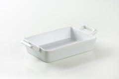 Porcelain Lasagna Pan Royalty Free Stock Images