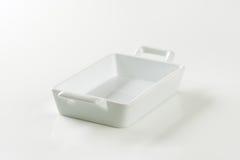 Porcelain Lasagna Pan Stock Images