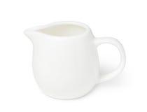 Porcelain milk jug Stock Images