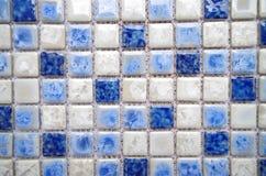 Porcelain mosaic Royalty Free Stock Image