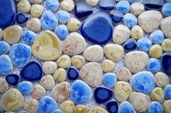Porcelain mosaic Royalty Free Stock Photo
