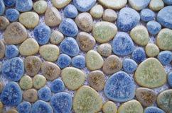 Porcelain mosaic Stock Image