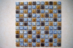 Porcelain mosaic Stock Photos