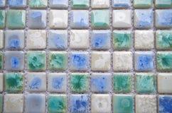 Porcelain mosaic Royalty Free Stock Images