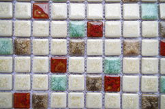 Porcelain mosaic Royalty Free Stock Photography