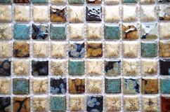 Porcelain mosaic Stock Images