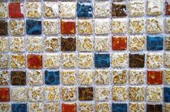 Porcelain mosaic Stock Photo
