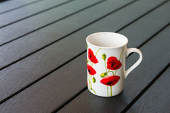 Porcelain mug Stock Images