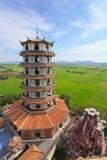 Porcelain pagoda Stock Image