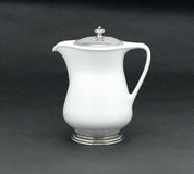 Porcelain pitcher Royalty Free Stock Images
