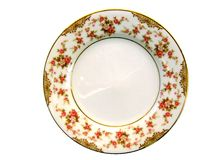 Porcelain plate Stock Photos