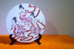 Porcelain plate Royalty Free Stock Image