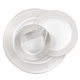 Porcelain plate Stock Photo
