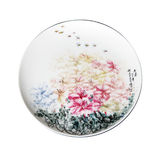 Porcelain plates Stock Photography