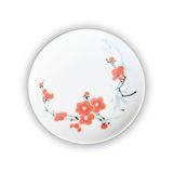 Porcelain plates Stock Photos