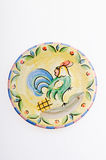 Porcelain plates Stock Image