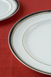 Porcelain plates Royalty Free Stock Photography