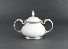 Porcelain pot Stock Image