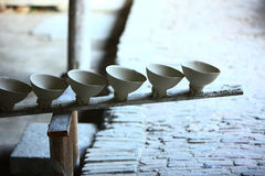 Porcelain production,Jingdezhen China stock photography