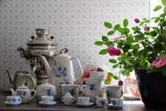 Porcelain service Stock Images