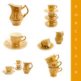 Porcelain set Royalty Free Stock Photography