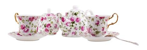 Free Porcelain Set On White Background Royalty Free Stock Photos - 51926518
