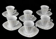 Porcelain set Royalty Free Stock Images