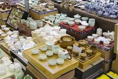 Porcelain shop Royalty Free Stock Image