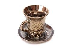 Porcelain tea cups three Stock Image