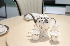 Porcelain tea set Royalty Free Stock Photography