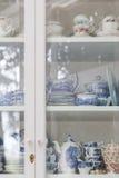 Porcelain tea sets Stock Images