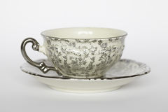 Porcelain teacup stock photography