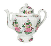 Porcelain teapot Royalty Free Stock Image