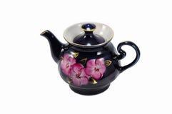 Porcelain teapot Stock Photography