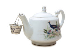 Porcelain teapot Royalty Free Stock Photography