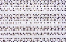 Porcelain tile with small convex squares of different colors.  stock photos