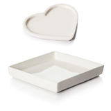 Porcelain Trays Stock Images