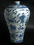 Porcelain vase. Chinese porcelain vase picture elements Stock Photography