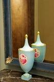 Porcelain vase Royalty Free Stock Photo