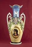 Porcelain vase bis Royalty Free Stock Images