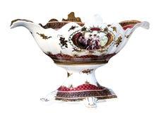 Porcelain vase greek retro Stock Images