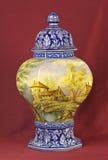 Porcelain vase Stock Photo
