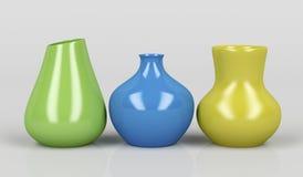 Porcelain vases Stock Image